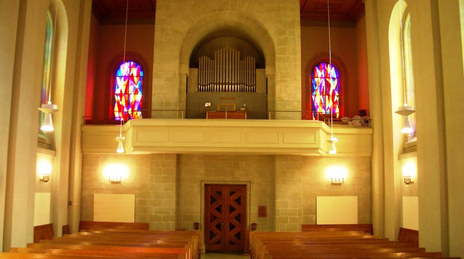 Intérieur du temple avant transformation